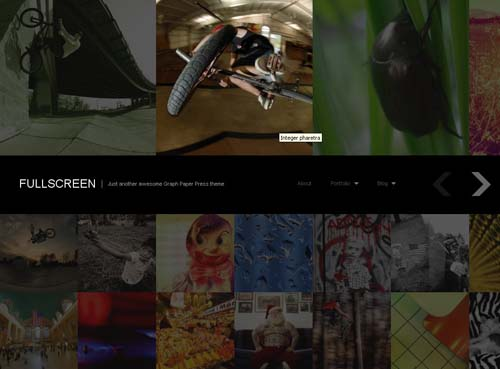 grid based wordpress themes
