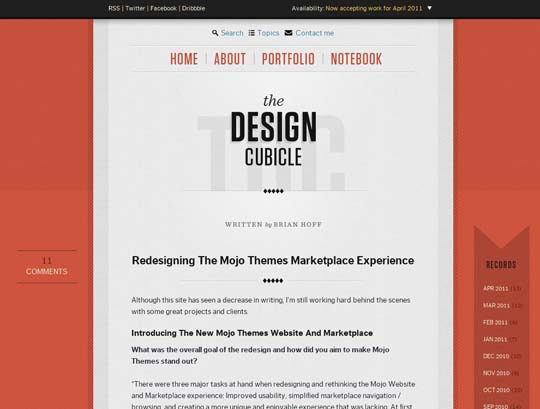 evolution of design blogs