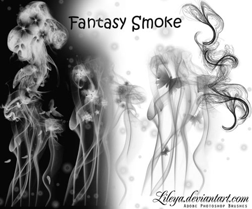 photoshop smoke brushes