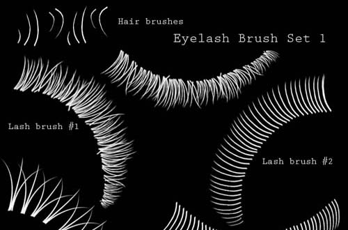 25+ Free Eye Brushes For Photoshop | Pixelbell